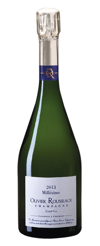 Champagne Olivier Rousseaux Millesime 2013