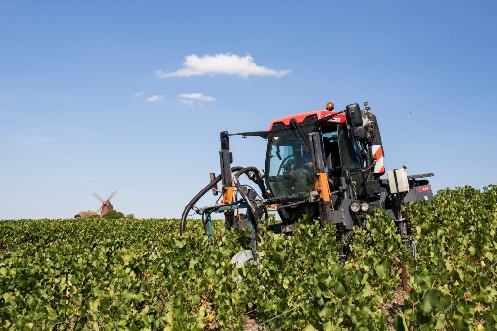 tracteur olivier rousseaux champagne